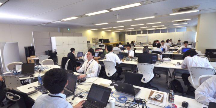 FCS大阪オフィスの社内風景