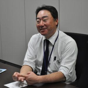 経営企画センター 広報・IR課長の田辺様