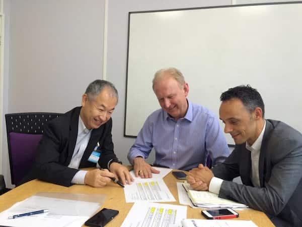 2.海外企業との提携